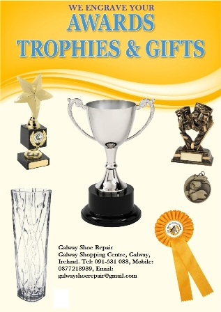 Trophy Engraving | Galway Shoe Repair